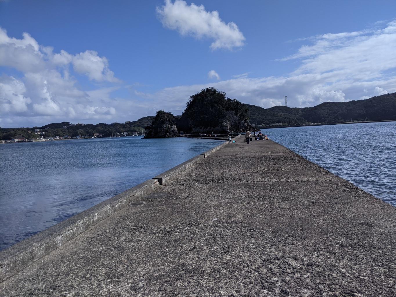 犬走島堤防