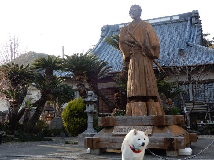 下田宝福寺の坂本龍馬